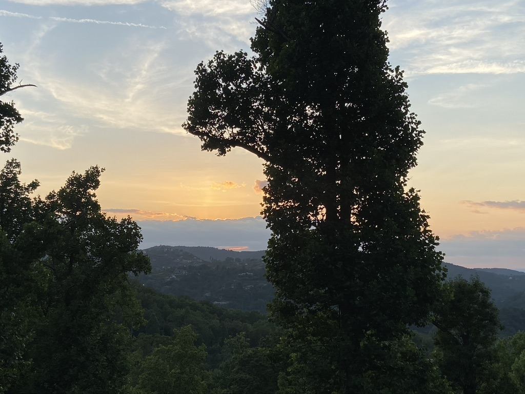 sunset in Tennessee